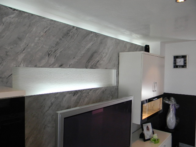 Moderne raumgestaltung mlstuckateurmeister - Raumgestaltung wohnzimmer ...