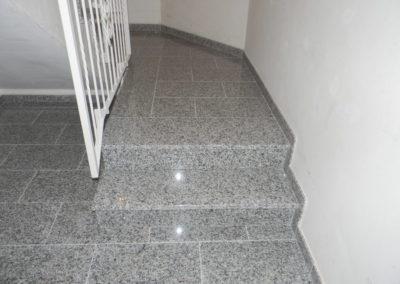 Granit- Innentreppen
