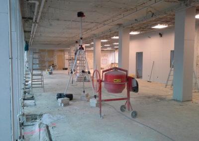 Studio Frankfurt, bei Beginn der Arbeiten