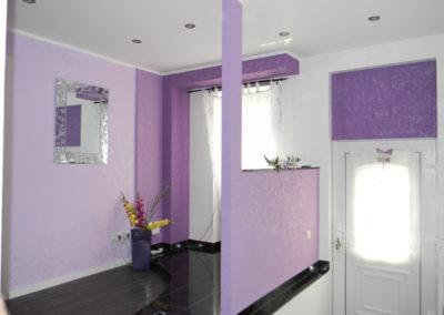Willkommen!!! Eingangsbereich farblich gestaltet