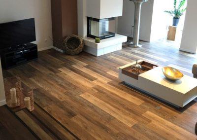PVC- Designboden, Holzoptik