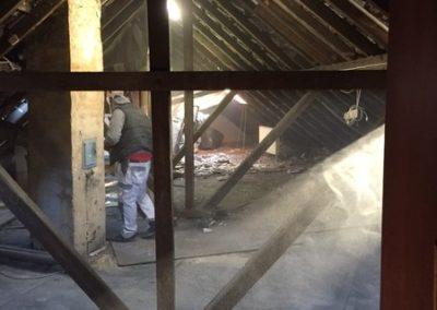 Neunkirchen, Dachgeschoss vor dem Umbau